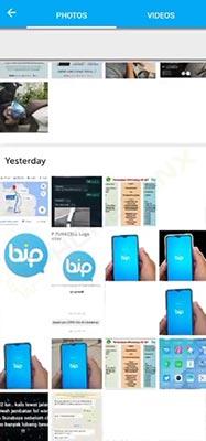 kirim aplikasi BiP